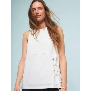 Anthro Sunday in Brooklyn Side Lace Top Size S